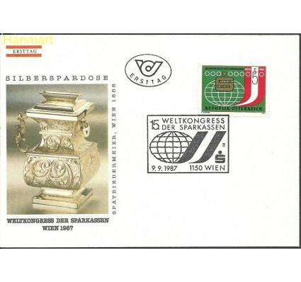 Znaczek Austria 1987 Mi 1898 FDC