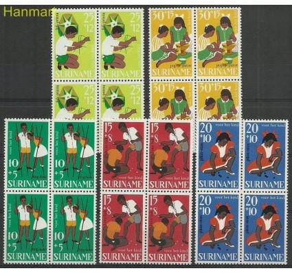 Znaczek Surinam 1967 Mi vie528-532 Czyste **
