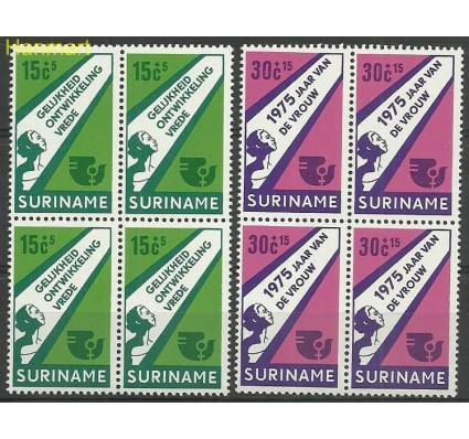 Znaczek Surinam 1975 Mi vie693-694 Czyste **