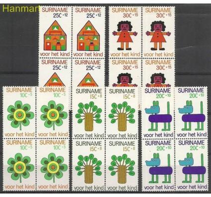 Znaczek Surinam 1973 Mi vie658-662 Czyste **