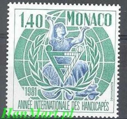 Monako 1981 Mi 1476 Czyste **
