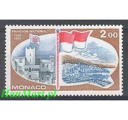 Znaczek Monako 1981 Mi 1477 Czyste **