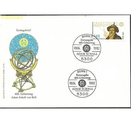 Znaczek Niemcy 1992 Mi 1607 FDC