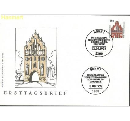 Znaczek Niemcy 1992 Mi 1623 FDC