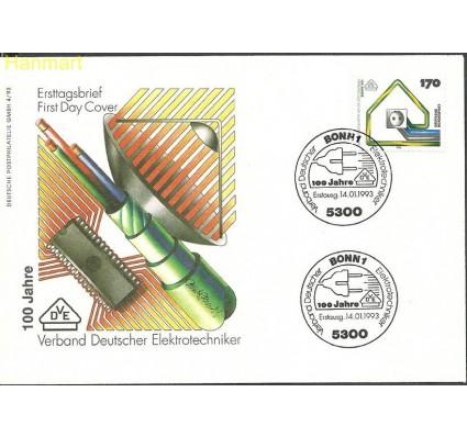 Znaczek Niemcy 1993 Mi 1648 FDC