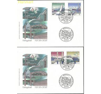 Znaczek Niemcy 1993 Mi 1650-1653 FDC