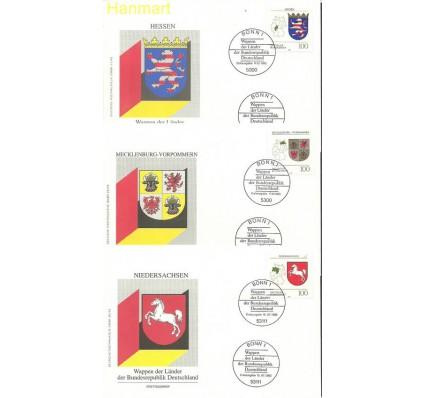 Znaczek Niemcy 1993 Mi 1660-1664 FDC