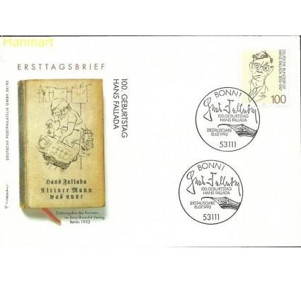 Znaczek Niemcy 1993 Mi 1683 FDC
