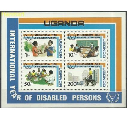 Znaczek Uganda 1981 Mi bl31 Czyste **