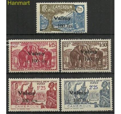 Znaczek Kamerun 1940-1943 Mi 40-43 Czyste **