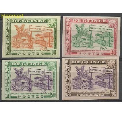 Znaczek Gwinea 1965 Mi 286-289B Czyste **