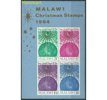 Znaczek Malawi 1964 Mi bl1 Czyste **
