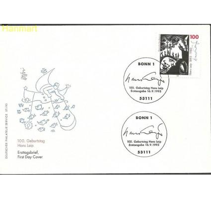 Znaczek Niemcy 1993 Mi 1694 FDC