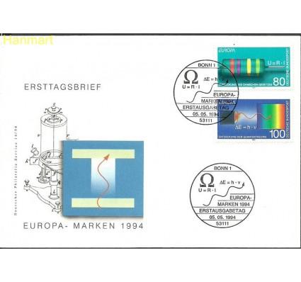 Znaczek Niemcy 1994 Mi 1732-1733 FDC