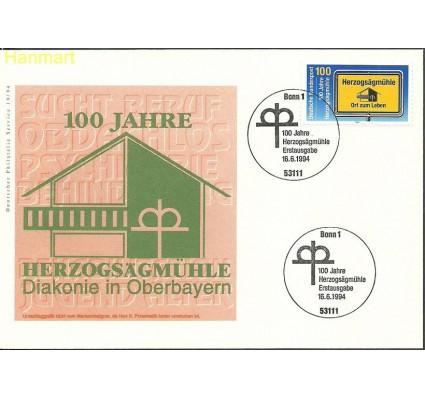 Znaczek Niemcy 1994 Mi 1740 FDC