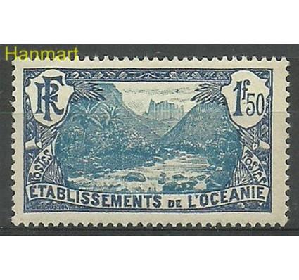 Znaczek Oceania Francuska 1930 Mi 68 Z podlepką *