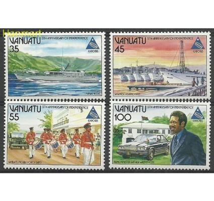 Znaczek Vanuatu 1985 Mi 703-706 Czyste **