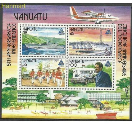 Znaczek Vanuatu 1985 Mi bl8 Czyste **