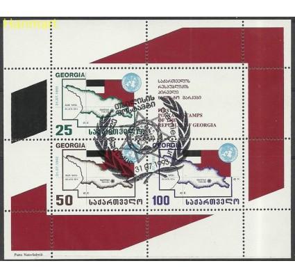 Znaczek Gruzja 1993 Mi bl1 Stemplowane