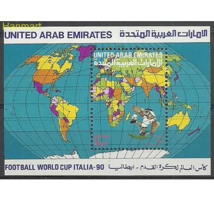 Znaczek Zjednoczone Emiraty Arabskie 1990 Mi bl6 Czyste **