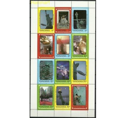 Znaczek Tanzania 1988 Mi ark438-449 Czyste **