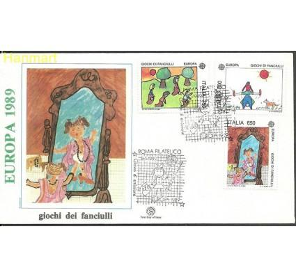 Włochy 1989 Mi 2078-2080 FDC