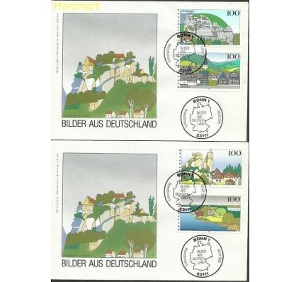 Znaczek Niemcy 1995 Mi 1807-1810 FDC