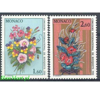 Monako 1983 Mi 1602-1603 Czyste **