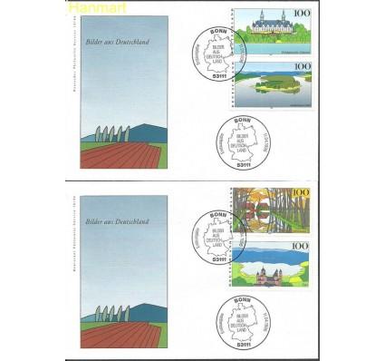 Znaczek Niemcy 1996 Mi 1849-1852 FDC