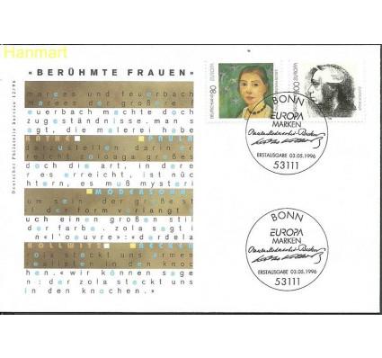 Znaczek Niemcy 1996 Mi 1854-1855 FDC