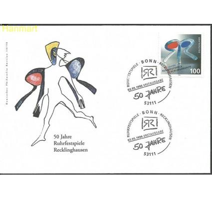 Znaczek Niemcy 1996 Mi 1859 FDC