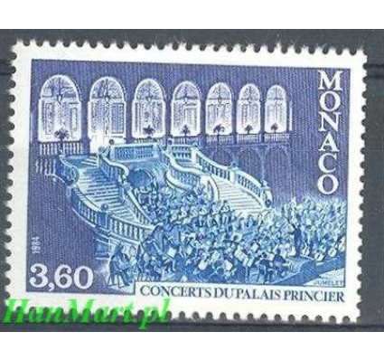 Monako 1984 Mi 1633 Czyste **