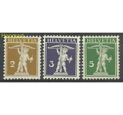 Znaczek Szwajcaria 1907 Mi 95-97 Czyste **