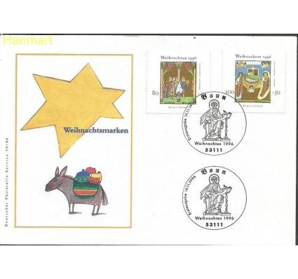 Znaczek Niemcy 1996 Mi 1891-1892 FDC