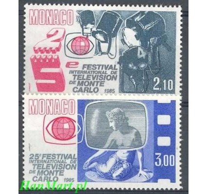 Monako 1984 Mi 1662-1663 Czyste **