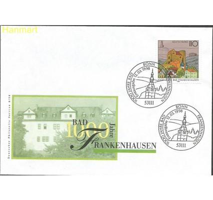 Znaczek Niemcy 1998 Mi 1978 FDC