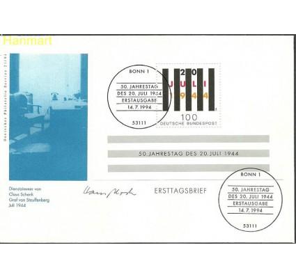 Znaczek Niemcy 1994 Mi bl29 FDC