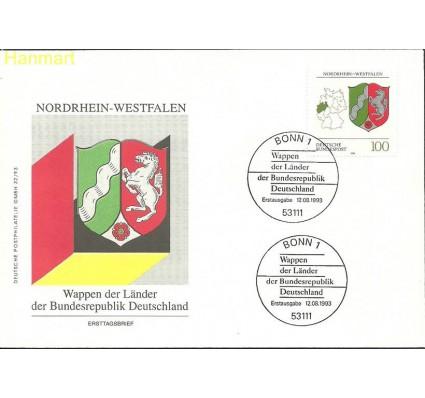 Znaczek Niemcy 1993 Mi 1663 FDC
