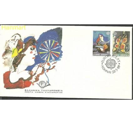 Znaczek Grecja 1989 Mi 1721-1722 FDC