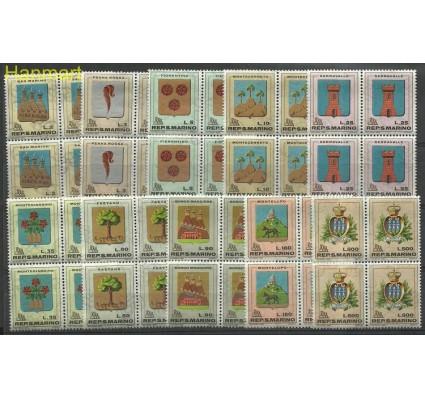 Znaczek San Marino 1968 Mi 903-912 Czyste **