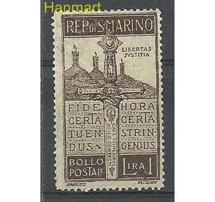 Znaczek San Marino 1923 Mi 99 Z podlepką *