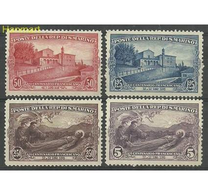 Znaczek San Marino 1928 Mi 141-144 Z podlepką *