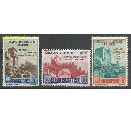Znaczek San Marino 1956 Mi 558-560 Z podlepką *