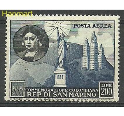 Znaczek San Marino 1952 Mi 476 Z podlepką *