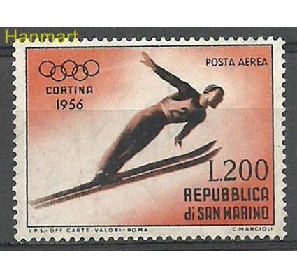 Znaczek San Marino 1955 Mi 544 Z podlepką *