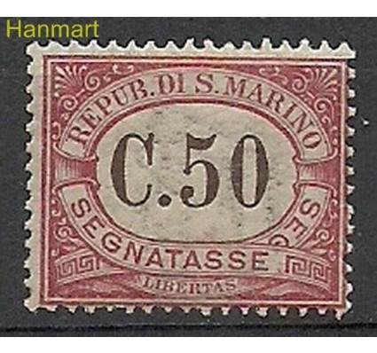 Znaczek San Marino 1924 Mi por13 Z podlepką *