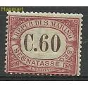 San Marino 1924 Mi por14 Z podlepką *
