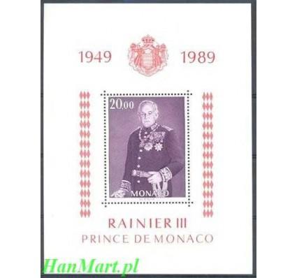 Monako 1989 Mi bl 43 Czyste **