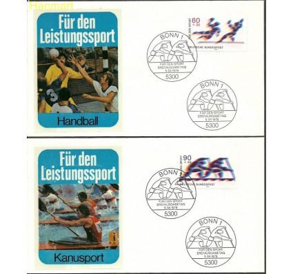 Znaczek Niemcy 1979 Mi 1009-1010 FDC