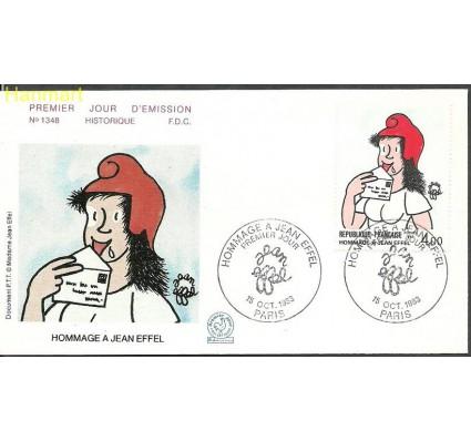 Znaczek Francja 1983 Mi 2415 FDC